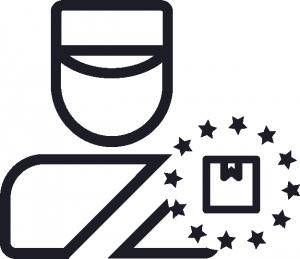 Zoll Icon Importabfertigung durch Fiskalvertreter